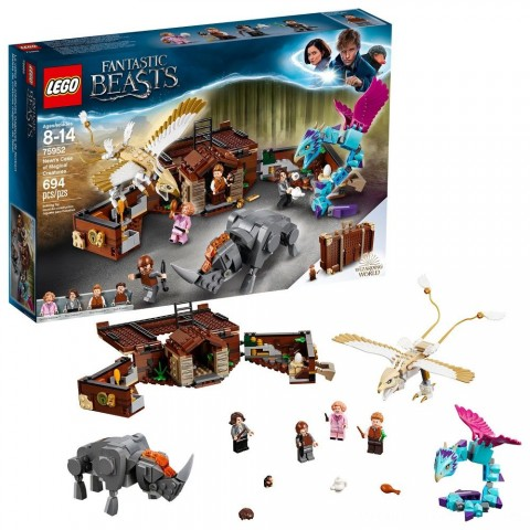 LEGO Harry Potter Fantastic Beasts Newt's Case of Magical Creatures 75952 Free Shipping