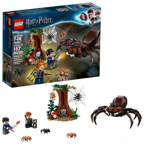 LEGO Harry Potter Aragog's Lair 75950 Free Shipping