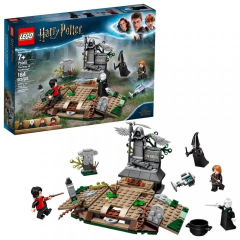 LEGO Harry Potter The Rise of Voldemort 75965 Wizard Minifigure Battle Action Building Set 184pc Free Shipping