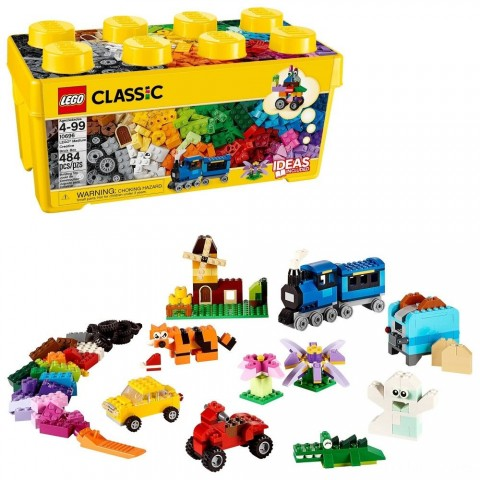 Black Friday 2020 Sale LEGO Classic Medium Creative Brick Box 10696 Building Toys for Creative Play, Kids Creative Kit Free Shipping