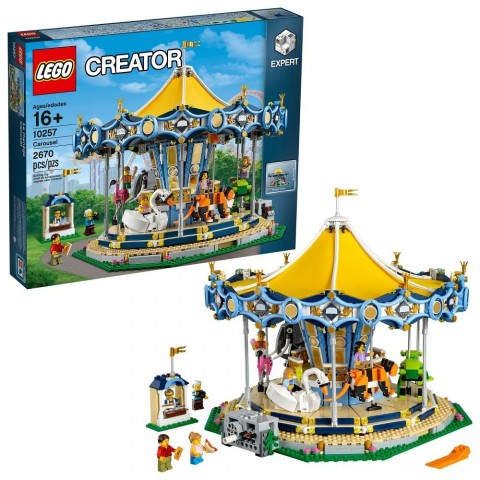 Black Friday 2020 Sale LEGO Creator Expert Carousel 10257 Free Shipping