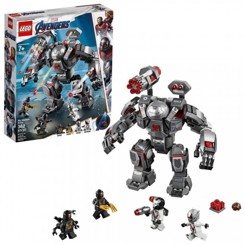 LEGO Marvel Avengers War Machine Buster 76124 Free Shipping