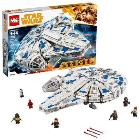 LEGO Star Wars Kessel Run Millennium Falcon 75212 Free Shipping