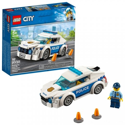 Black Friday 2020 Sale LEGO City Police Patrol Car 60239 Free Shipping