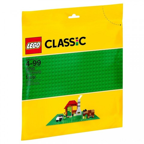 Black Friday 2020 Sale LEGO Classic Green Baseplate 10700 Free Shipping