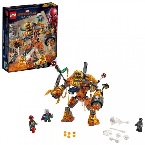 LEGO Super Heroes Marvel Spider-Man Molten Man Battle 76128 Free Shipping
