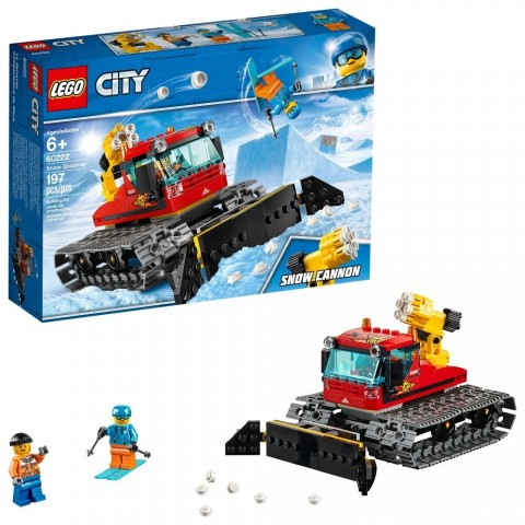Black Friday 2020 Sale LEGO City Great Vehicles Snow Groomer 60222 Free Shipping