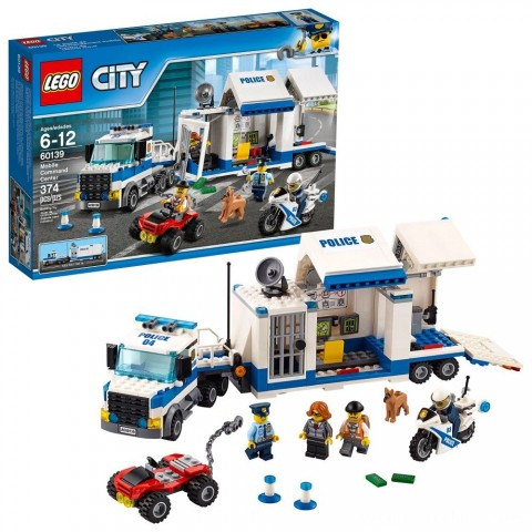 Black Friday 2020 Sale LEGO City Police Mobile Command Center 60139 Free Shipping
