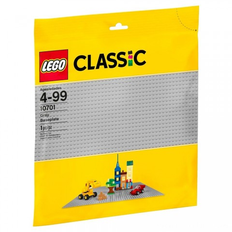 Black Friday 2020 Sale LEGO Classic Gray Baseplate 10701 Free Shipping