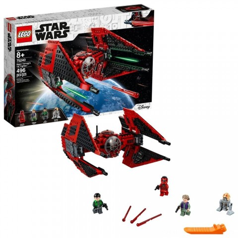 LEGO Star Wars Major Vonreg's TIE Fighter 75240 Free Shipping