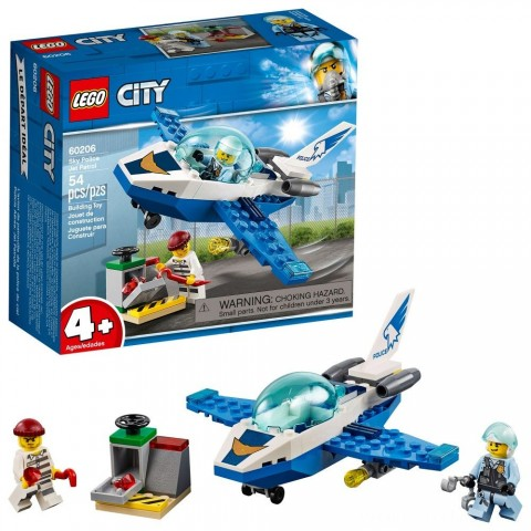 Black Friday 2020 Sale LEGO City Sky Police Jet Patrol 60206 Free Shipping