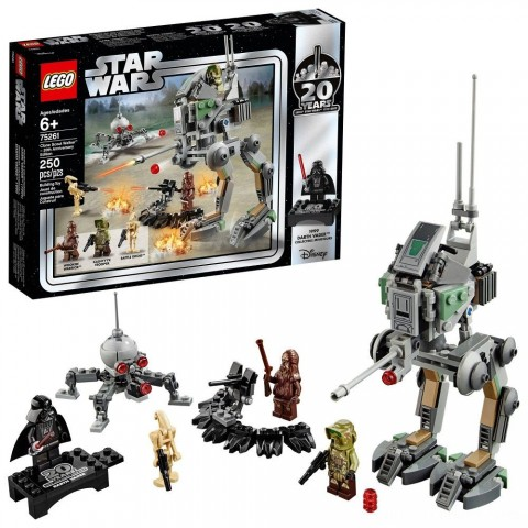 LEGO Star Wars Clone Scout Walker - 20th Anniversary Edition 75261 Free Shipping