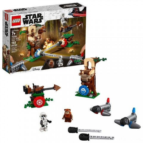 LEGO Star Wars Action Battle Endor Assault 75238 Free Shipping