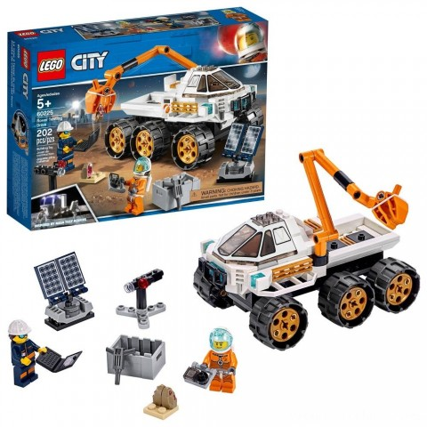 LEGO City Space Port Rover Testing Drive 60225 Free Shipping