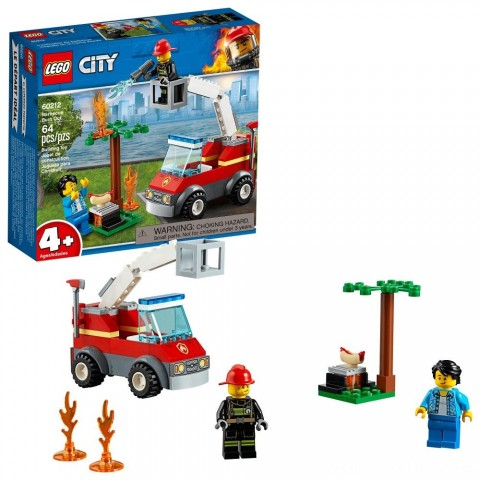 LEGO City Barbecue Burn Out 60212 Free Shipping