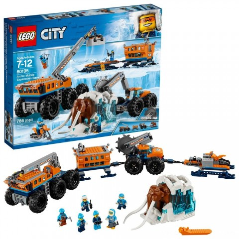 LEGO City Arctic Mobile Exploration Base 60195 Free Shipping