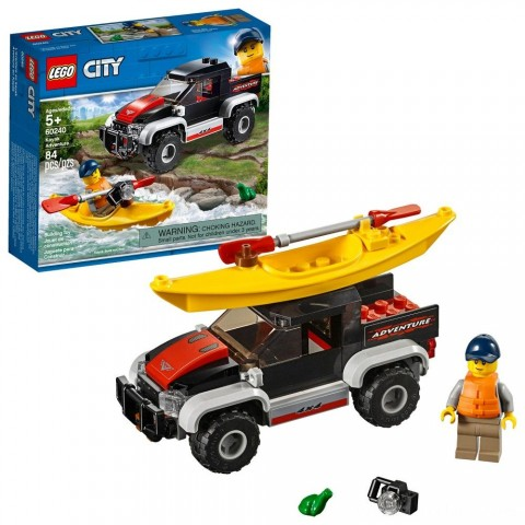 LEGO City Kayak Adventure 60240 Free Shipping