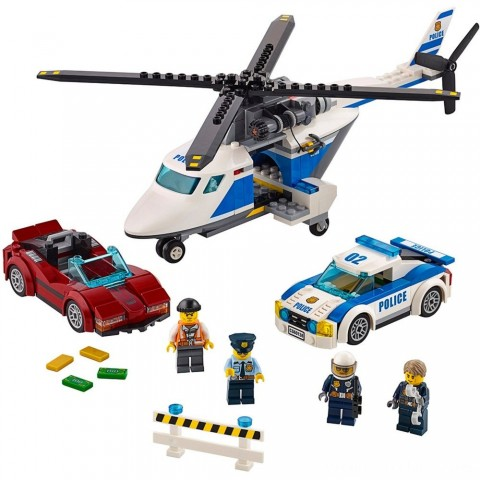 LEGO City Police High-speed Chase 60138 Free Shipping