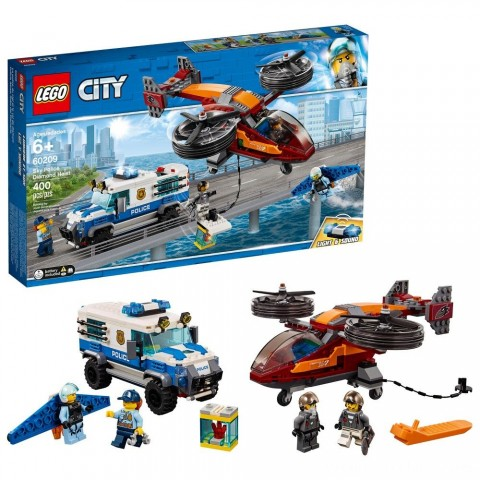 Black Friday 2020 Sale LEGO City Sky Police Diamond Heist 60209 Free Shipping