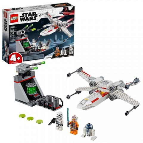 LEGO Star Wars X-Wing Starfighter Trench Run 75235 Free Shipping