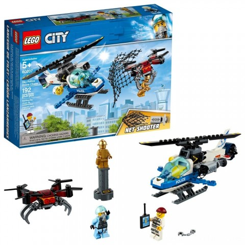 Black Friday 2020 Sale LEGO City Sky Police Drone Chase 60207 Free Shipping