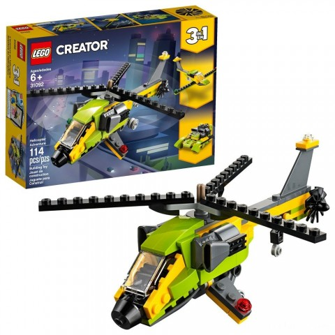 Black Friday 2020 Sale LEGO Creator Helicopter Adventure 31092 Free Shipping
