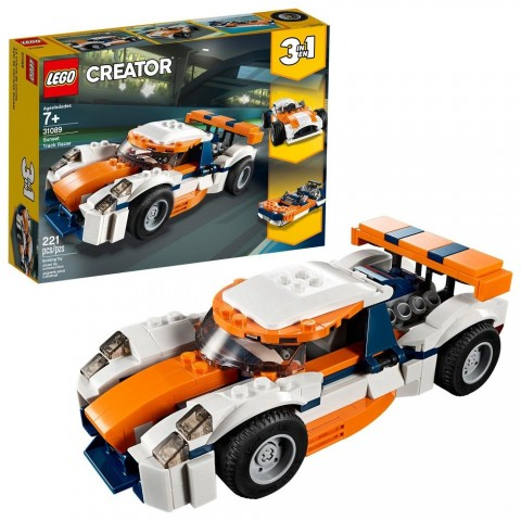 LEGO Creator Sunset Track Racer 31089 Free Shipping