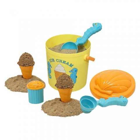 Melissa & Doug Sunny Patch Speck Seahorse Sand Ice Cream Play Set Free Shipping
