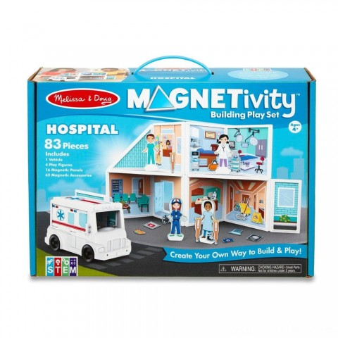 Melissa & Doug Magnetivity - Hospital Free Shipping